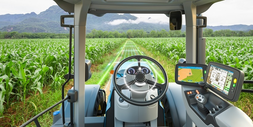 Agricultura digital - trator 2