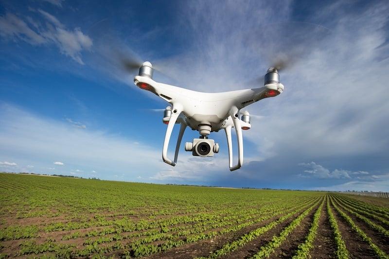 A Taranis utiliza drones, aviões e satélites para monitorar a lavoura, levantando dados que serão analisados pelo produtor