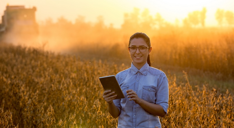 Mulheres estão em todas as áreas do setor agrícola