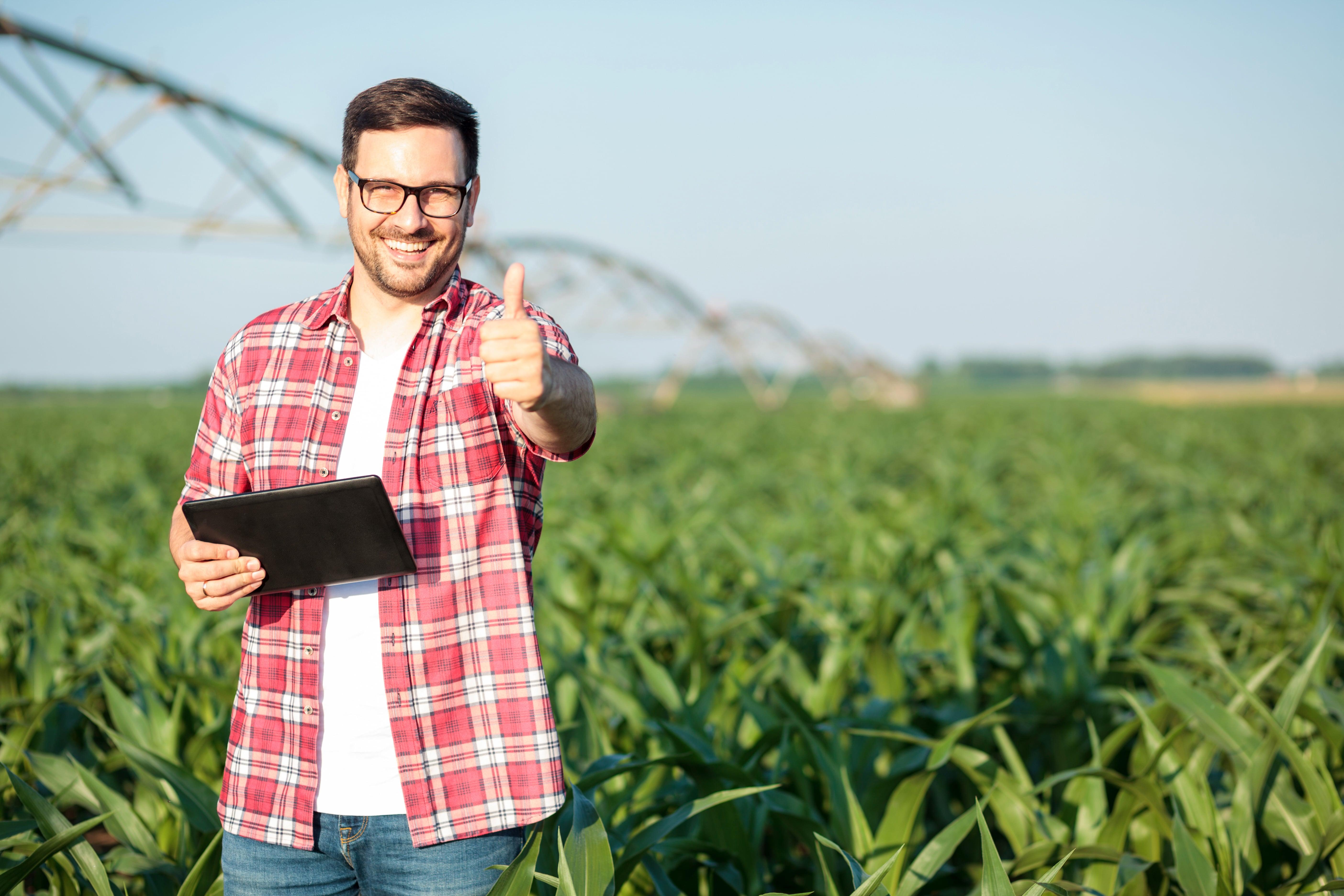 acesso a internet e conectividade podem trazer mais eficiencia para o agronegocio